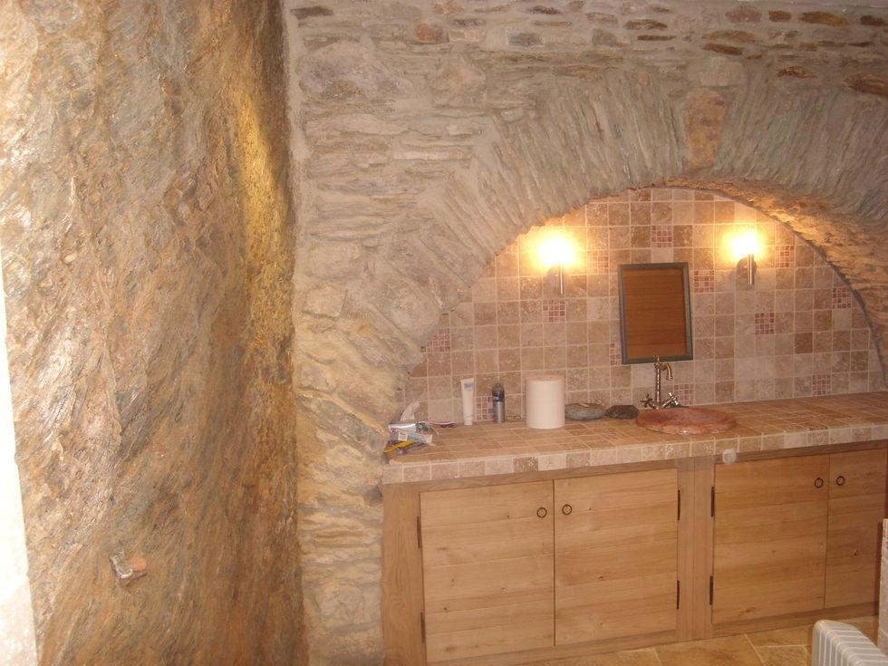 Mas Cévennes Rénovation - Création d'une salle de bain