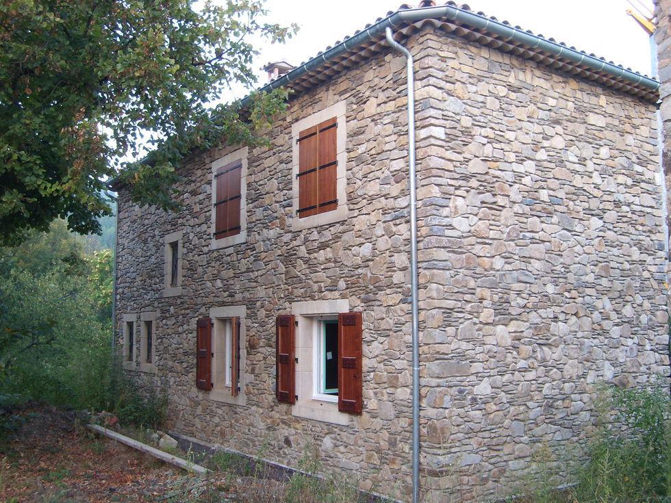 Mas Cévennes Rénovation - Villa neuve en pierre