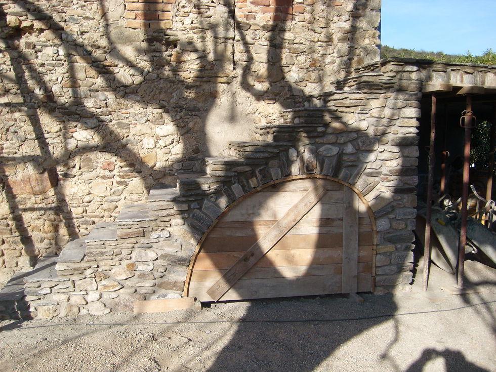 Mas Cévennes Rénovation - Escalier et cintre en pierre