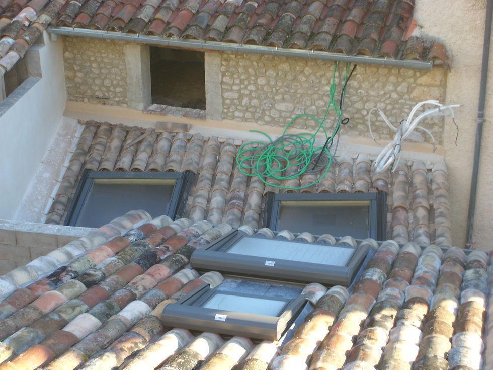 Mas Cévennes Rénovation -Toitures avec fenetres de toit